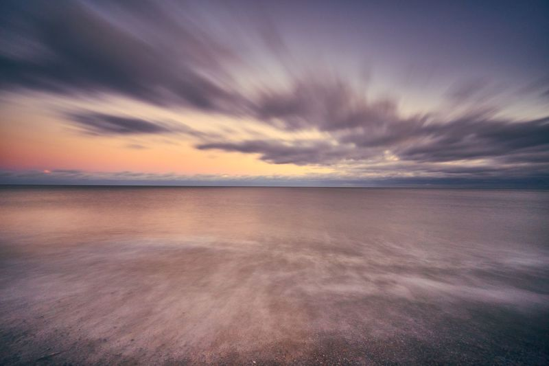 Testing out my Lee Big Stopper on the beach in Aldeburgh. It was really cold but loving the Lee filter system Best EyeEm Shot Movement Lee Filters Slow Shutter Sea Scenics Tranquil Scene Sunset Beauty In Nature Nature Tranquility Horizon Over Water Cloud - Sky No People Idyllic Outdoors Landscape Beach Water