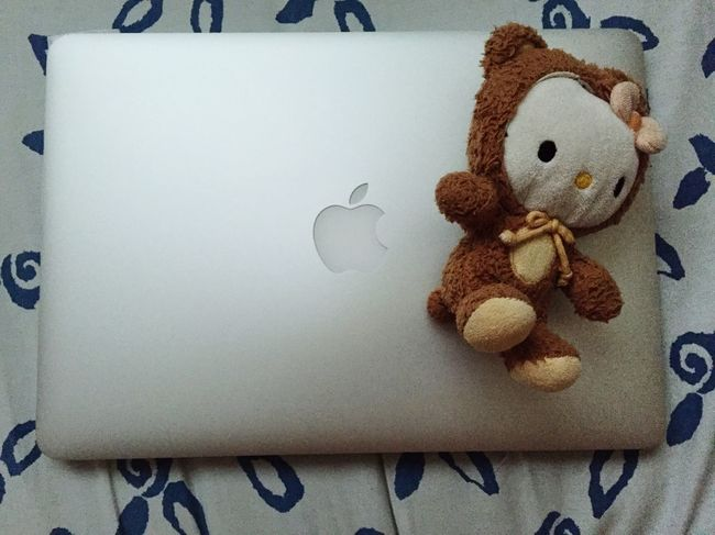 PC MacBook MacBookPro Macbookproretina Peluche Hellokitty Apple Ordinateur