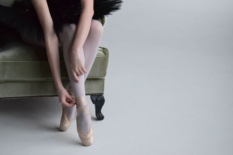 ballet Ballet Ballet Dancer Low Section One Person Human Leg White Background Indoors  Real People Young Women Sitting Human Body Part Women Young Adult Day People EyeEmNewHere Colour Your Horizn Press For Progress