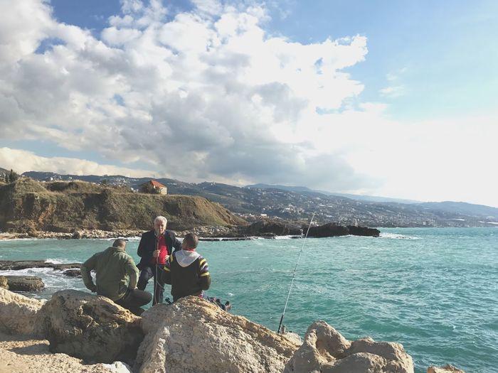 Goals. Byblos Lebanon Mediterranean  Sea Shisha Fishing Streetphotography Breathing Space
