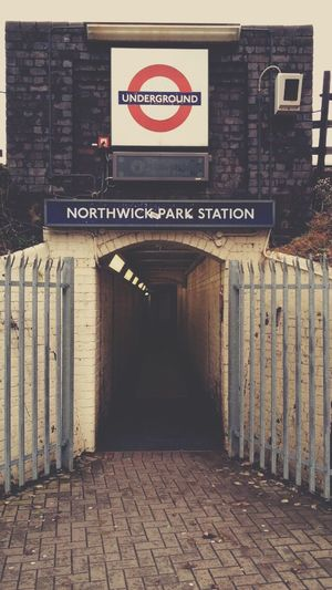 Northwick Park London Underground Train Station Cityscapes