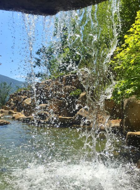 Summer Water Waterfall Water_collection 夏 涼