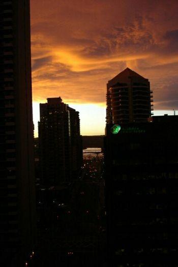 Creative Light And Shadow Cityscape Skyonfire Colorful Thunderstorm EyeEm City Lights Night Shots