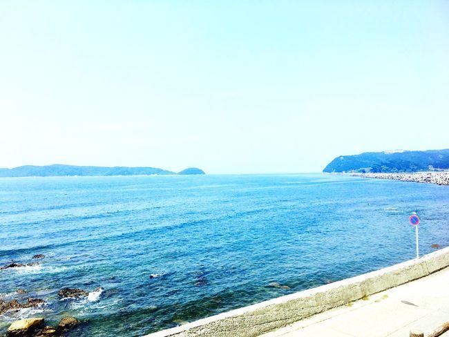 Summer Sea Blue Beautiful Beatiful Nature 2016summerversion IPhone Beauty In Nature Summertime Summer2016 Natural Beauty Gradation August 2016