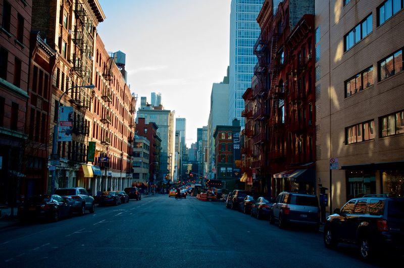 Empty Road NYC