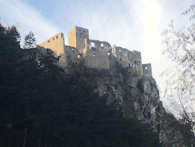 Castle Castle Strečno Strecno Slovakia Slovakia Castle tusko