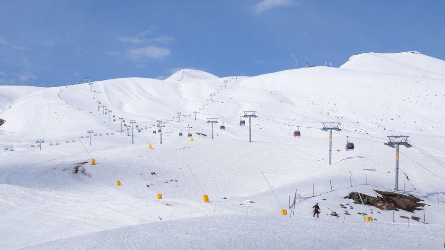 Gudari ski resort, tbilisi