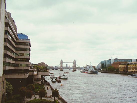 Architecture City Cityscape Travel Destinations No People Urban Skyline Outdoors Bridge - Man Made Structure Cloud - Sky Business Finance And Industry Sky Building Exterior Harbor Skyscraper Day River Water Nautical Vessel Riverbank LONDON❤ England🇬🇧 England 🇬🇧 England 🌹 England, UK London