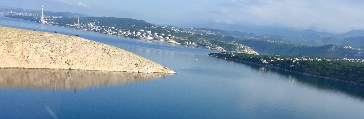 Bewundern Bestaunen Entdecken Beobachten Leben Landschaft Kroatien Wasser Berge