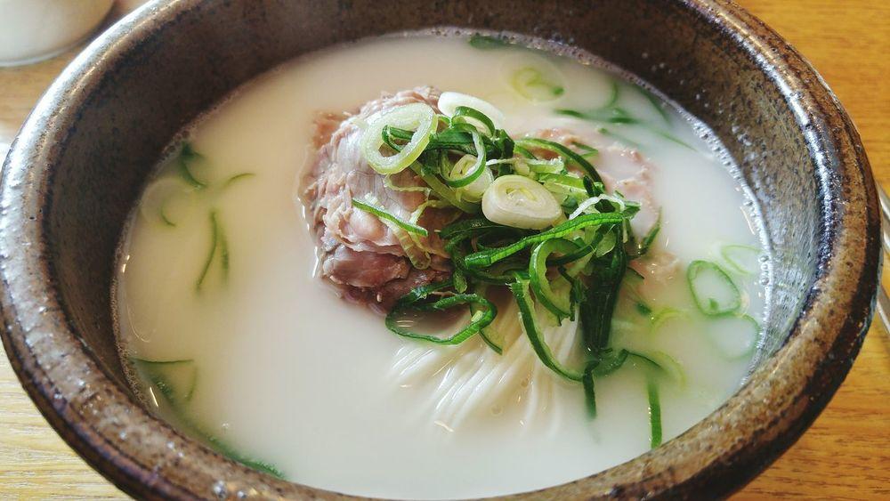 설렁탕 한촌설렁탕 Food Meal Bowl