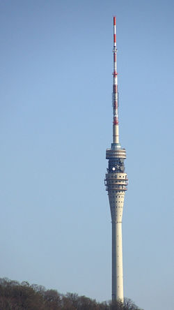 Antenna - Aerial Architecture Broadcasting Built Structure City Communication Dresden Fernsehturm Global Communications No People Outdoors Sky Tall - High Technology Telecommunications Equipment Tower Urban Skyline