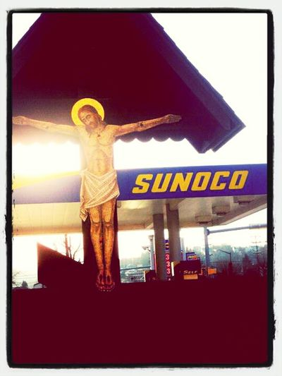 Jesus Died For Your......oil?