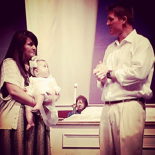 Camilla's baptism Familyrocks Familybyfaith
