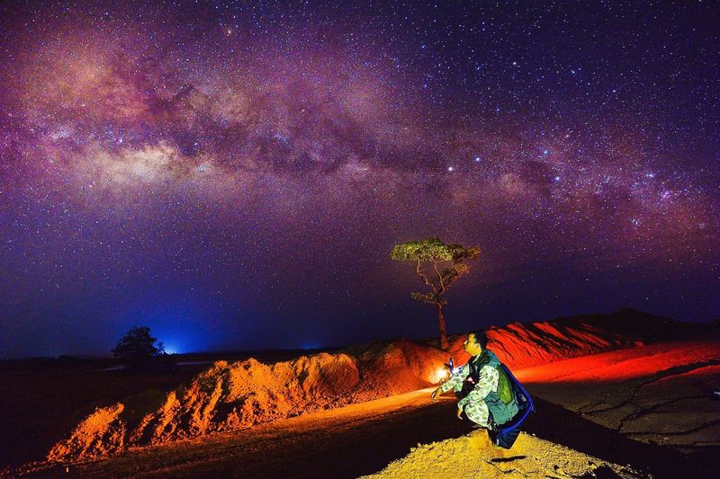 Milkyway bintan island Astrophotography Ibnu Abbas Photography EyeEm Best Shots - Landscape Adventure Photography Bintan Timur