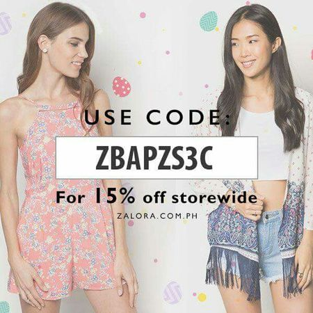 Hello Check This Out ZaloraPH Discount Code Onlineshopping Eyeem Philippines Philippines http://www.zalora.com.ph