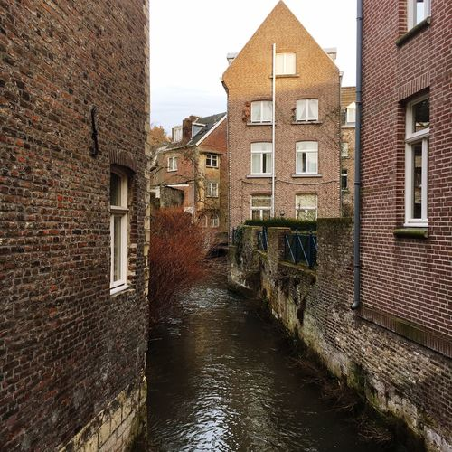 Canal Magic Architecture Built Structure Building Exterior Canal Water Brick Wall Residential Building No People Outdoors Day