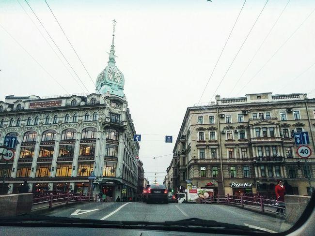 City Saint Petersburg Санкт-Петербург красотарядом Sky Road