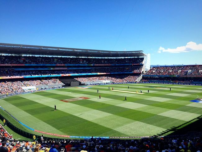 Cricket CricketWorldCup EyeEm Best Shots EyeEm Best Edits Crowd Stadium Match