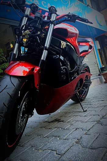 Izmir Motorcycles Motorsport Motor Makina ölümmakinası Hız That's Me Red Black