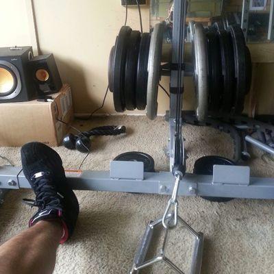 Rows Gym JustDoIt Morningsesh