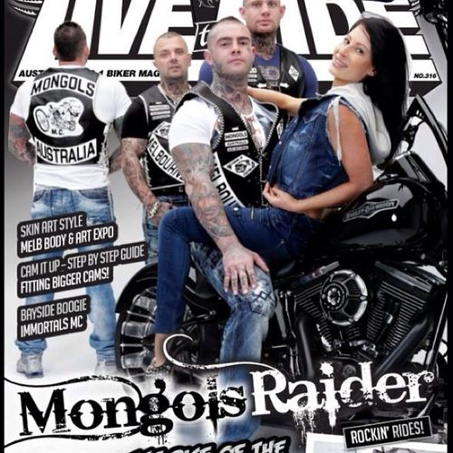Livetoride WEontheFRONTcover Mongols Raiders