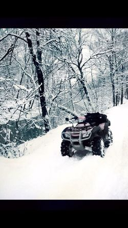 Winter Four Wheeling Peaceful Outdoors Snow ❄