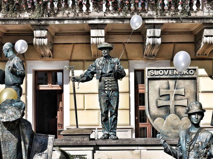 I love Slovakia....😎 Outdoors Live Statue Statues And Monuments Scenics People Bodypainting Slovakia🇸🇰 Slovensko