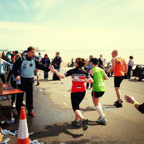 Brighton Marathon 2013 Water Sharing