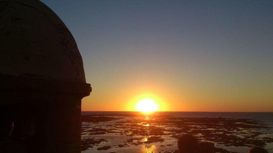 puesta de sol en playa la Caleta,Cadiz Taking Photos Hanging Out