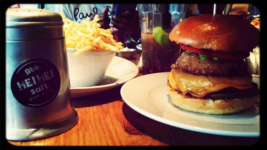 A fantastic lunch! GBK