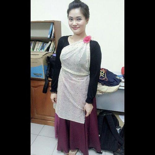 My dancing outfit Gempuru Besai Friday