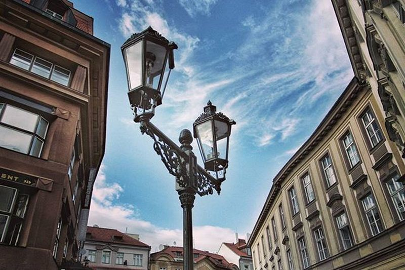 You can see little wonders when you don't keep your head down - streets of Prague EEprojects Cbviews Canon_photos Snapzone LiveTravelChannel @natgeotravel Travelawesome Czech Czechrepublic Ceskarepublika Romantic Architecturephotography Lookingup_architecture Tourism Design Beautifuldestinations Awesomeearth Architecture Building Sightseeing Earthfocus Lamp Streetphotography Tpsolympus @thephotosociety@getolympusLookingup_architecture