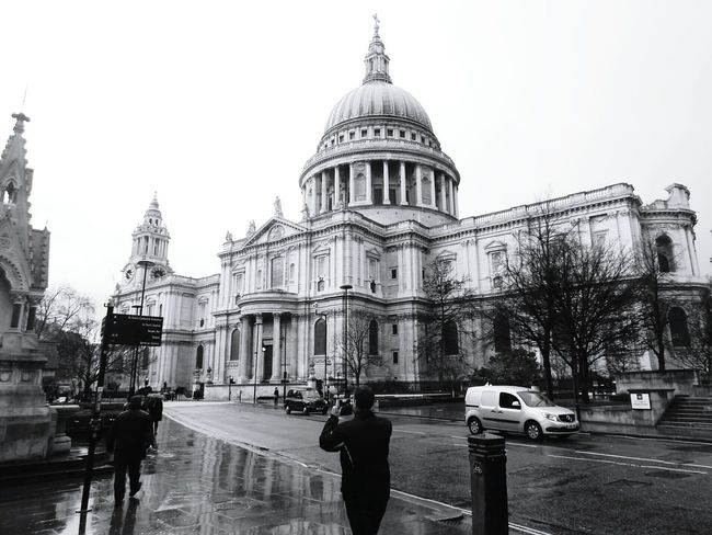 St. Paul's Cathedral. Londres, Reino Unido. Marzo de 2014. London StPaulscathedral
