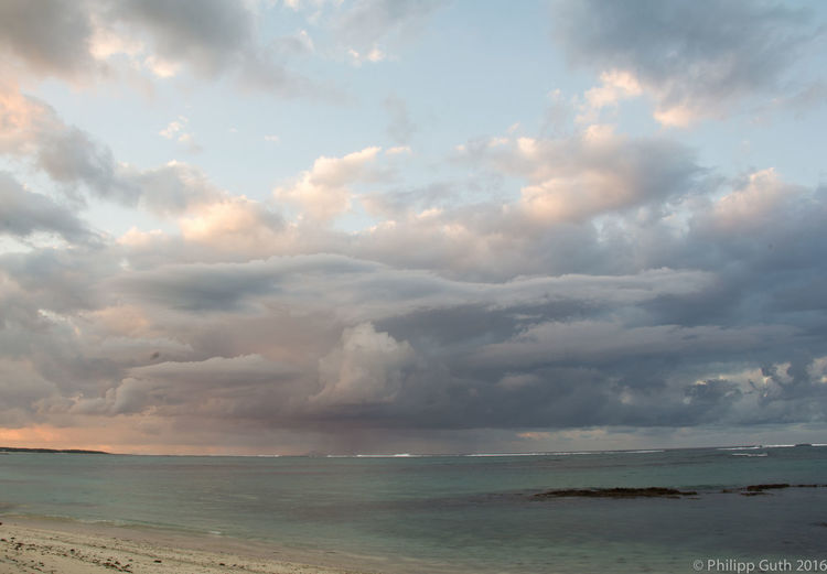 Sky Cloud - Sky Sea Scenics - Nature Water Beauty In Nature Horizon Over Water Tranquility Tranquil Scene Horizon Beach Nature Land Non-urban Scene No People Idyllic Storm Outdoors Ominous