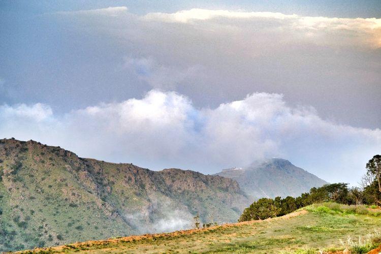 Landscape Mountain Cloud - Sky Outdoors No People Beauty In Nature عدستي_عيني_الثالثه عدسة_جنوبي_عسيري تصويري_نيكون المملكة_العربية_السعودية الضلال Travel Destinations Travel Natural Phenomenon KSA Travel Photography Beauty In Nature Nature Day Sky