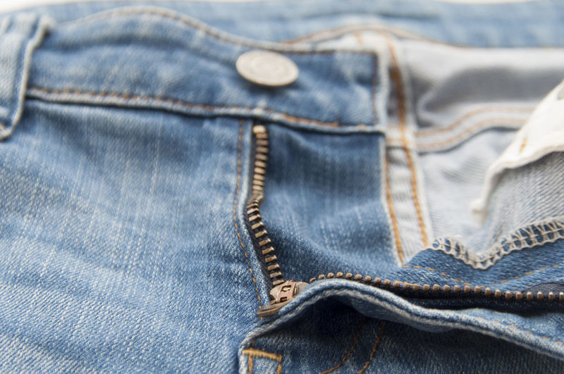 Close-Up Of Jeans