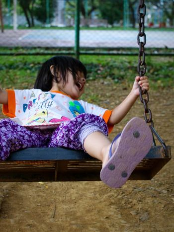 Outdoors Tranquility Growth One Person Portraits Portrait Photography Day Girls Smiling Cute Adorable Child Childhood Children Playing Field Happiness Eyeemphotography