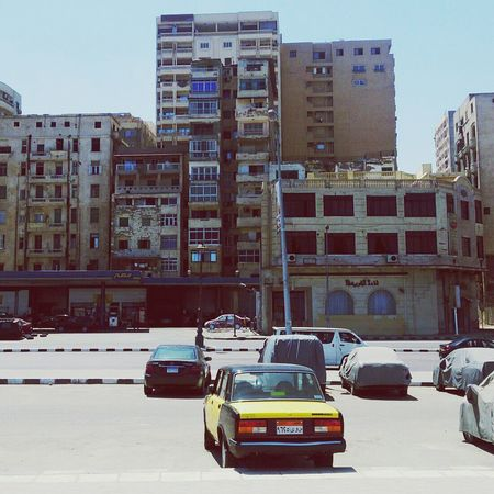 Hanging Out Enjoying Life Travel Egypt Urban Bulding Buldings Car Auto Alexandria Alexandria Egypt