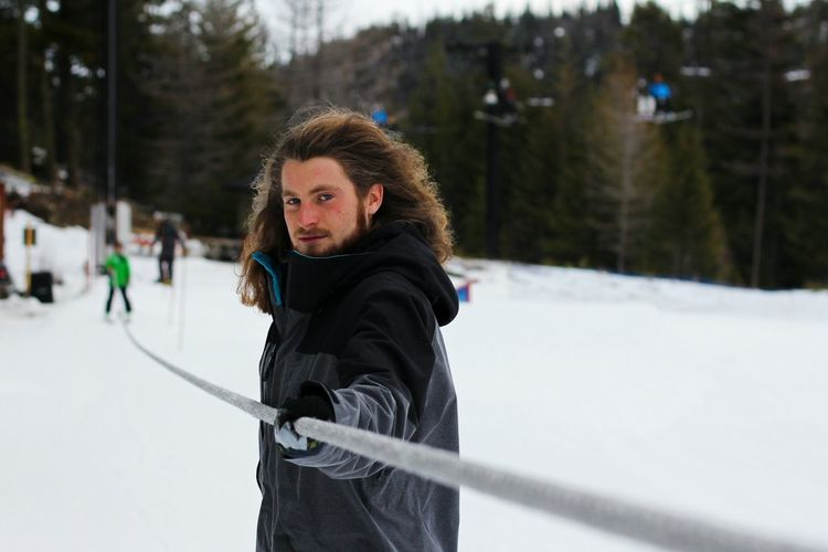 Petey P. working at the Mission Ridge terrain park. The Portraitist - 2016 EyeEm AwardsPortrait Portraiture Face Snowboarding Snowboarder Rope Tow Terrain Park Active Life Leisure Activity Active Lifestyle  Mountain Winter Action Shot  Snowboard Washington Wenatchee Youth Of Today Hair Hairstyle Haircut Hairstyles Confident  Stern Young Man Snow Sports