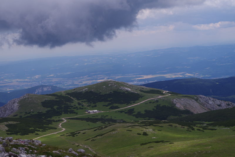 Lower Austria EyeEmNewHere Hiking Pentax Landscape Mountain Cloud - Sky High Angle View Mountain Range Business Finance And Industry No People Outdoors Go Higher