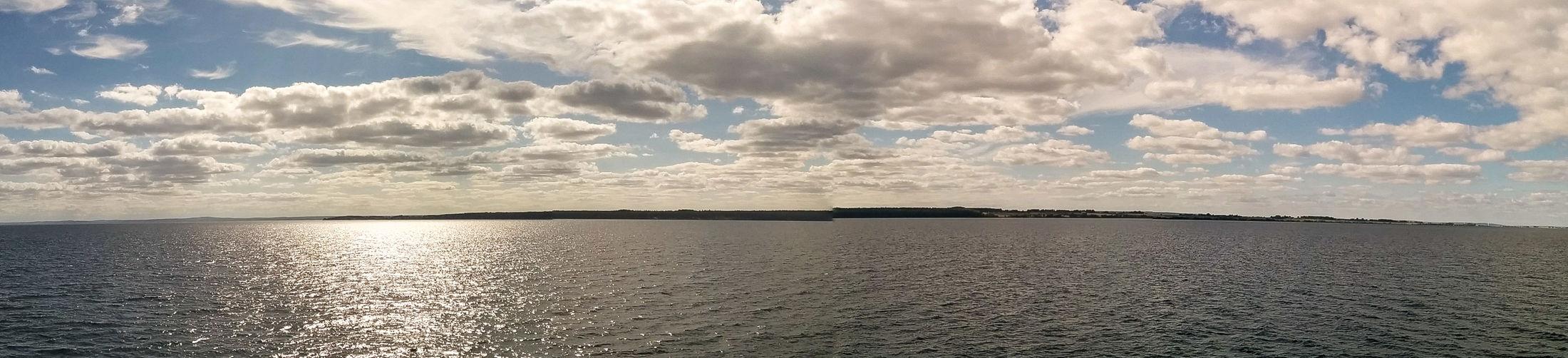 Sailing towards Visingsö , Ferry Landscape ☺