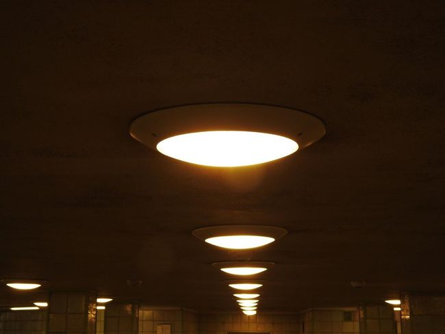 Lighting Equipment Illuminated Electricity  Low Angle View No People Indoors  Light Bulb Architecture Hermannplatz Berlin
