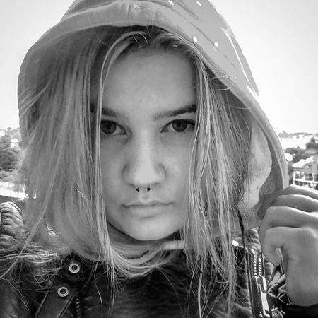 WTF with the weather? Selfie Piercing Septum Face Girl Blackandwhite Style Photo Cold Weather Me