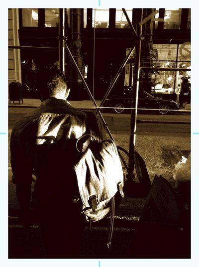 Sepia Waiting Evening Sun