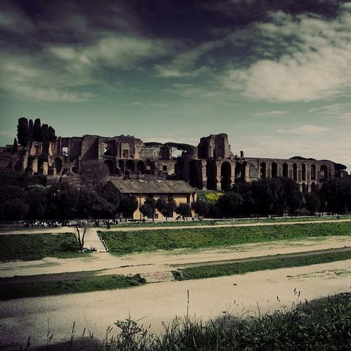 #circus #maximus #palatine #hill #roma #rome #italy Circus Roma Hill Maximus Palatine Italy Rome