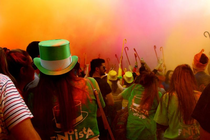 Blessing colors Cortejoacadémicoipb16 Sister Colorparty Enjoying Life Portugal Bragança