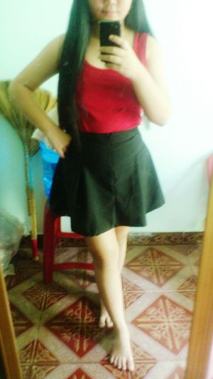 I love skirt :3