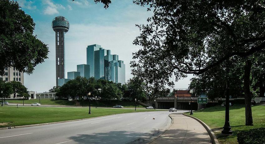 Dallas Tx - Cityscapes Cityscape John F. Kennedy  Skyline Urban Landscape Urban Dallas Texas Dallasskyline Dallas Skyline