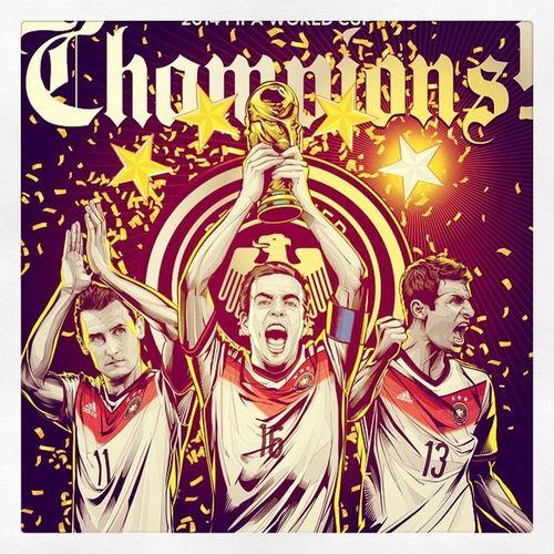 Germans >> Champions >> HailGermany RespectTeam ChampionsFifa2014 Love Schwansteiger Özil Müller Klose Germansnailedit Madefortheworldcup L4l Likeforlike F4F Follow4follow