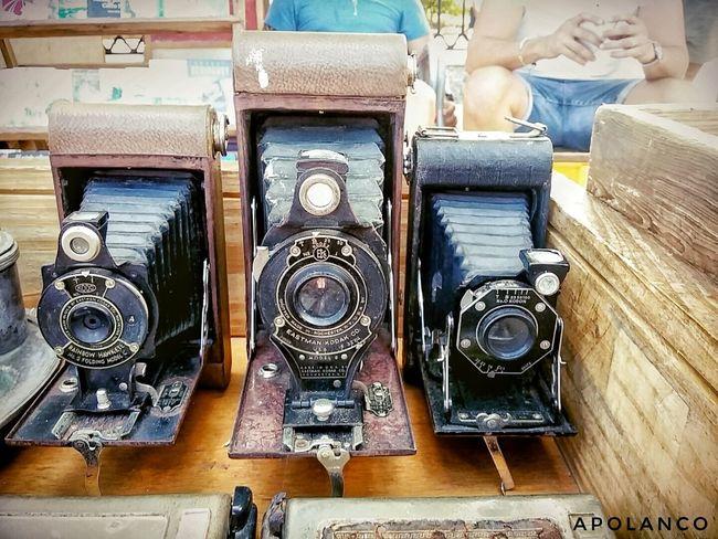 B612 Cuba Kodak Old Cameras Old-fashioned Plaza De Armas Samsung Galaxy A3 Vintage Cameras EyeEmNewHere